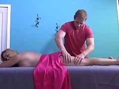 Mother's first massage from son