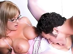 Big Tits Blonde MILF Teacher Fucked Allison Kilgore