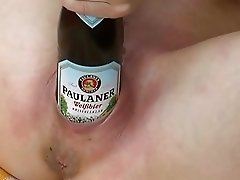 Amateur - German Pierced Mature Self Fists & Deep Bottles
