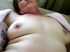Hot pussy warming up for some friends