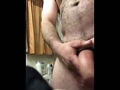 Shower wank part 1