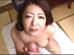 Busty Milf Getting Her Tits Fucked Giving Blowjob For Guy Cum To Mouth On T