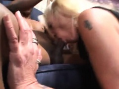 Fledgling white milf fucked in the arse by big shaded shaft