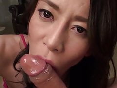 Rei Kitajima :: Crazy Blowjob With Sucking Sound 1 - CARIBBE