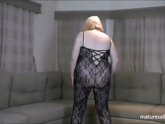 Black lacey  bodystocking