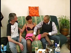 He wacthes his wife Isabelle fucked by other man