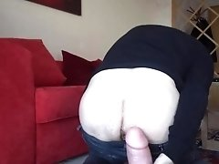 Mr BigHOLE Big Ass Gay Escort Huge Gaped by King Cock Chubby Dildo