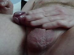 Playing with my mature cock 5