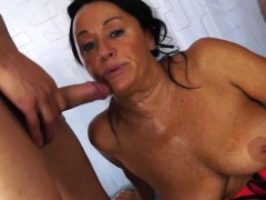 Scambisti Maturi - Italian foursome with mature anal Laura