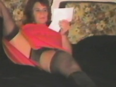 Vintage movie with amateur chick