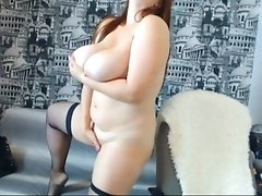 Hot babe with BIG BOOBS is waiting for you in front of the camera!