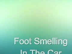 Foot Smelling In The Car (ItalFetish)