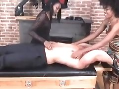Hot Man strapped down and tickled