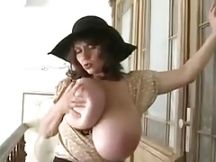 Mature Model with Huge Tits