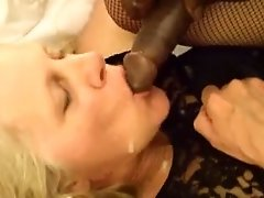 Short clip of sexy 61yo wife getting fucked hard and finished with a facial