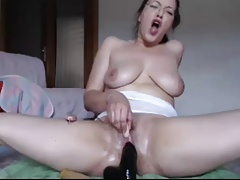 Dildo Fucking Squirting Compilation