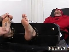 Free gay porn mature ejaculation Kenny Tickled In A Straight Jacket
