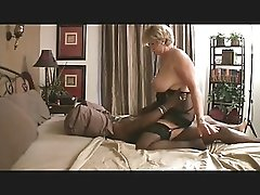 mature blonde & two black guys 5