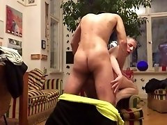 RUSSIAN BOTTOM IS ALWAYS HUNGRY FOR RAW COCK