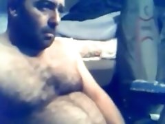 Smoking hairy Turkish trucker, no cum