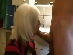 Mature Sister-in-law Blowjob