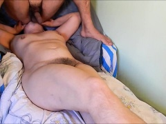 Mature amateur plays with her hairy pussy