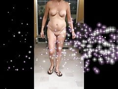Chubby Mature Porch Pee