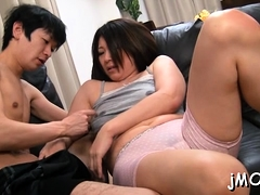 Hairy mature slut gets fucked hard in plenty of poses