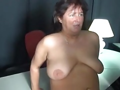 Chubby mature German