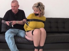 Unfaithful british milf gill ellis exposes her oversized tit