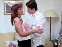 AgedLovE Redhead Mature Old and Young Hardcore
